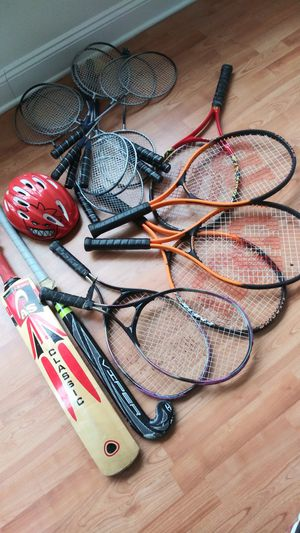 Numerous Rackets & Sports Equipment for Sale in Monroe Township, NJ