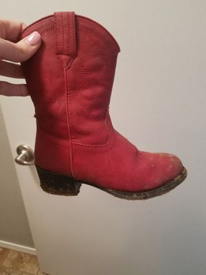 Girls cowboy boots size 11 for Sale in Snohomish, WA