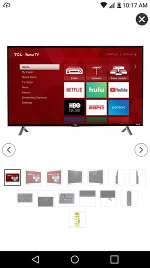 "32"" TCL Roku smart tv in box for Sale in Virginia Beach, VA"