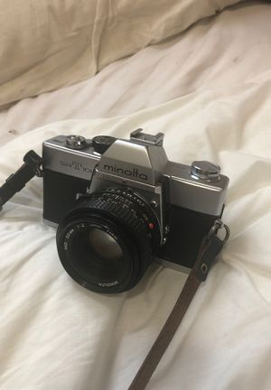 minolta 35mm film camera with 50mm for Sale in Queens, NY