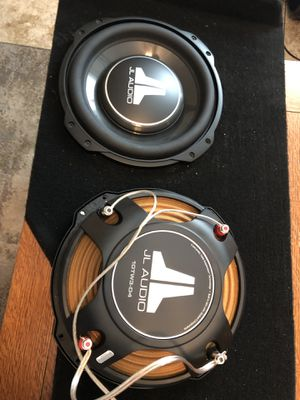 JL Audio 10TW3-D4 subwoofers with custom box for Sale in San Diego, CA
