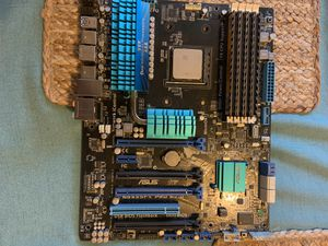 Motherboard, AMD FX-9590 processor and 16gb ram for Sale in Monroe, WA