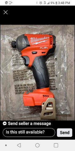 Milwaukee Fuel 1/4in Hex Impact Drill Tool Only New $80 for Sale in Dallas,  TX
