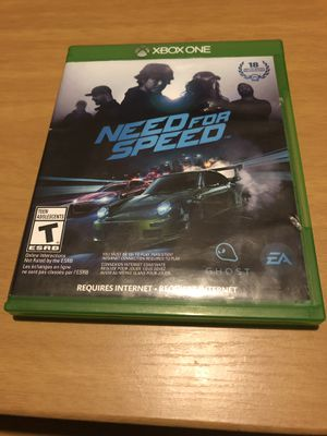 Need for Speed Xbox One for Sale in Springfield, OH