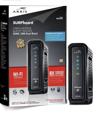 Modem/Router Dual Band, Model SBG-6580, DOCSIS 3.0 Brand New for Sale in Plantation, FL