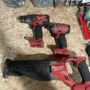 Milwaukee M18 Tools for Sale in Auburn, WA