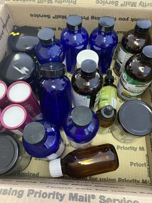 Jars and droppers Apothecary medicinal for Sale in Las Vegas, NV