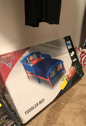Cars toddler bed for Sale in Pittsburg, CA