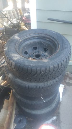 New 13 inch tires and rims all 4 20 bucks for Sale in Denver, CO