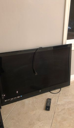 40 in TV for Sale in Corona, CA