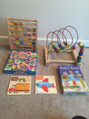 Kids toys and puzzles for Sale in Manassas, VA