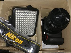 Barely used - Nikon D3400 + extras for Sale in Parkville, MD