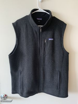 Patagonia Better Sweater Vest - Black - Size XL for Sale in San Francisco, CA