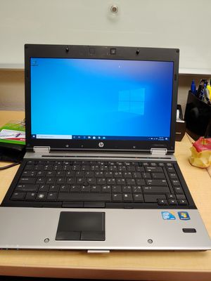 HP 14inch ELITEBOOK 8440P i5 WIN 10 LAPTOP (no webcam) for Sale in Irvine, CA