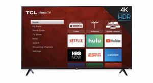 "TCL - 43"" Class - LED - 4 Series - 2160p - Smart - 4K UHD TV with HDR - Roku TV for Sale in Boca Raton, FL"