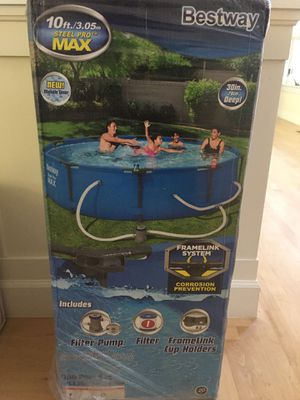 """NEW Bestway Steel Pro Max 10' x 30"""" Swimming Pool for Sale in Mill Valley, CA"""