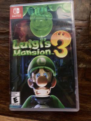 Luigis Mansion 3 for Sale in Dallas, TX