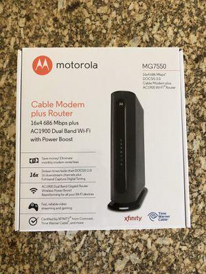 Cable modem plus router for Sale in Phoenix, AZ