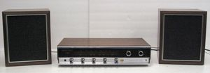 Vintage 70s Panasonic RE-7670 AM FM Phono Stereo Receiver w/ Speakers for Sale in Los Angeles, CA