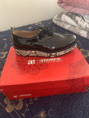 Andrea zapatos size 8 women nuevos for Sale in Jurupa Valley, CA