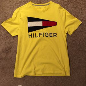 Yellow True Religion / Tommy Hilfiger Tee for Sale in Henderson, NV