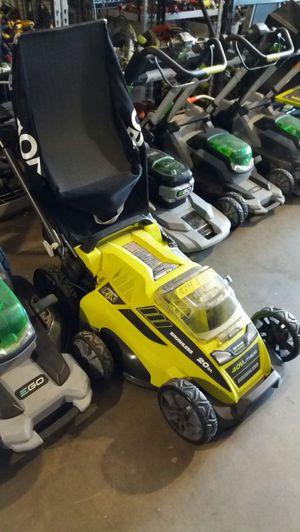 Ryobi 20-inch 40-volt lithium-ion brushless cordless lawn mower for Sale in Phoenix, AZ