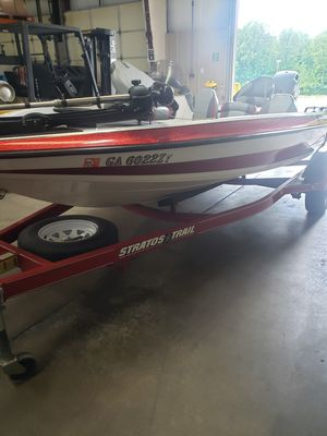stratos bass boat for Sale in Charlotte, NC