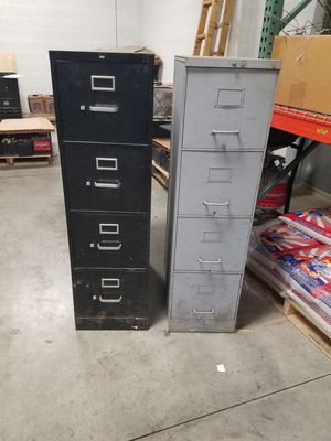 2 Four Drawer Filing Cabinets for Sale in Parma Heights, OH