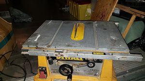 "Dewalt 10"" jobsite table saw DW744 for Sale in Lutz, FL"