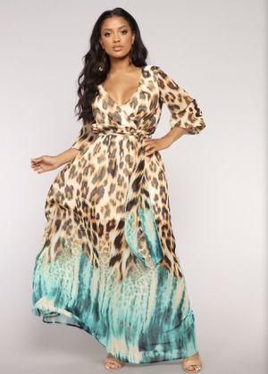 Leopard 🐆 maxi dress for Sale in Queen Creek, AZ