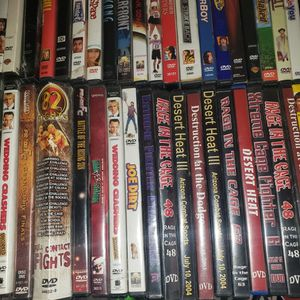 Huge LOT Of DVDs 40 Plus DVD S Mma Classic Comedy for Sale in Phoenix, AZ