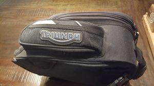 Triumph motorcycle gastank bag for Sale in Norwalk, CA