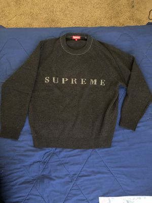Supreme Stone Washed Sweater XL for Sale in Murrieta, CA