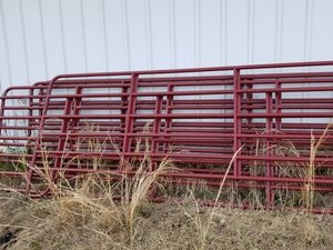 "12' stock panels, 62"" tall, new. I paid 110.00 each plus tax. for Sale in Downsville, LA"