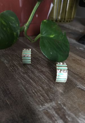 TURQUOISE EARRING SET for Sale in Columbus, OH