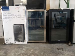 Wine cooler beverages cooler mini fridge nevera neverita frigobar freezer for Sale in Lauderhill, FL