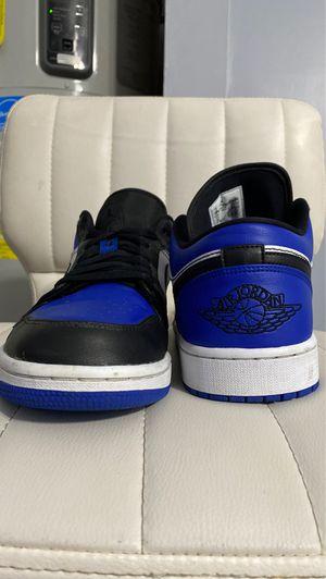 Jordan 1 royal toe low for Sale in Port St. Lucie, FL