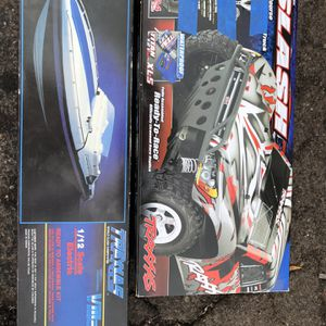 Traxxas Rc Truck And Rc Boat for Sale in Mesa, AZ