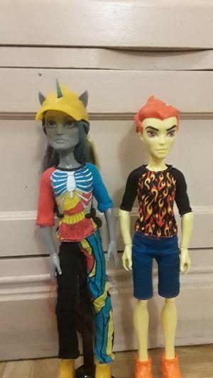 Monster high boy doll lot for Sale in Phoenix, AZ
