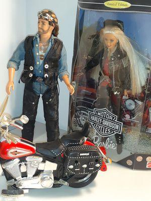 Harley Davidson barbie Ken complete set for Sale in Merritt Island, FL