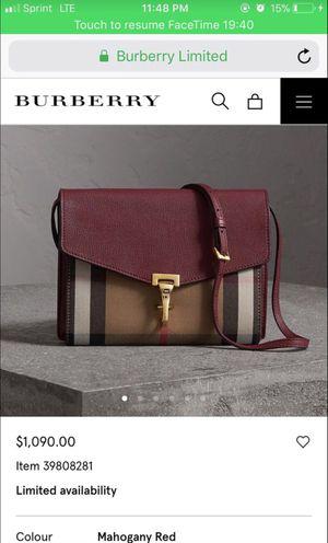 Burberry women bag for Sale in Wyndmoor, PA