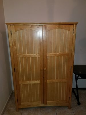 Solid wood Armoire Desk for Sale in Orlando, FL