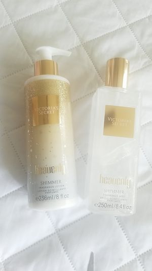 Fragrance lotion and mist Heavenly Shimmer for Sale in Selma, CA