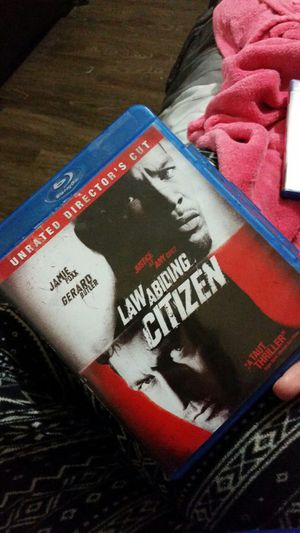 Law abiding citizen blue ray disc for Sale in Knoxville, TN
