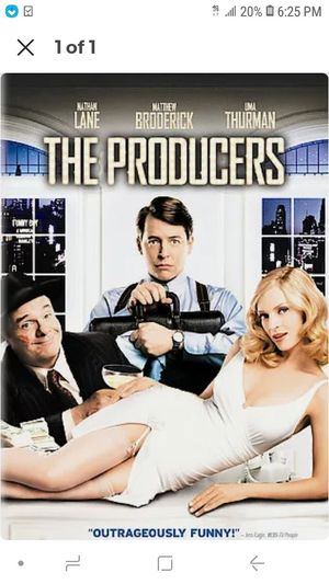 The Producers DVD Brand New Sealed for Sale in Sacramento, CA