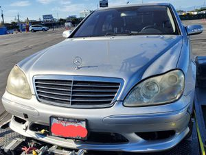 Parting out 2006 S500 Mercedes Silver fully loaded for Sale in Fontana, CA