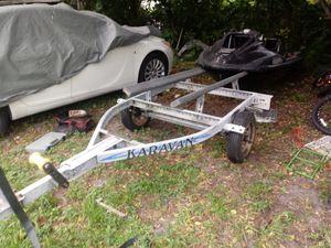Jet ski & john boat trailer for Sale in Miami, FL