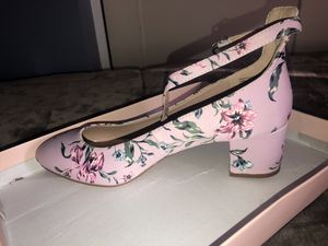 Just fab floral kitty heels for Sale in Boston, MA