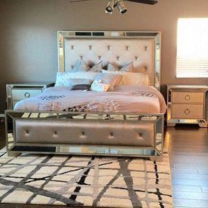 Ava upholstered bed frame for Sale in Westminster, CO