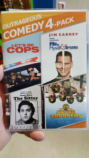 Outrageous Comedy 4 Pack for Sale in Toddville, IA